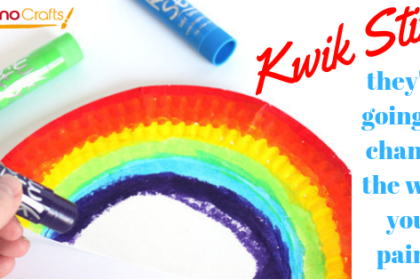 Kwik Stix - Solid Washable Tempera Paint - Paint in a Stick!